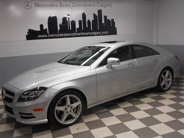 2014 mercedes benz cls class cls550 4matic advanced driving calgary alberta used car for. Black Bedroom Furniture Sets. Home Design Ideas