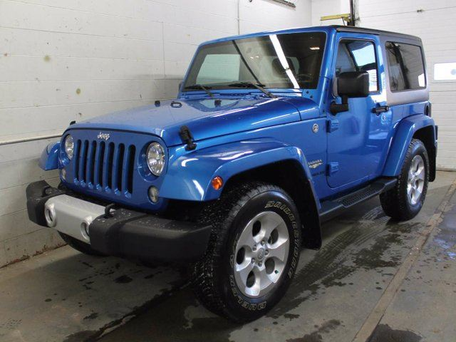 2015 jeep wrangler sahara 2dr 4x4 gps navigation edmonton alberta used car for sale 2706768. Black Bedroom Furniture Sets. Home Design Ideas