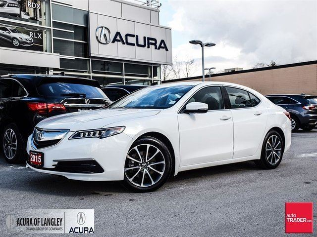 2015 acura tlx 3 5l sh awd w tech pkg surrey british. Black Bedroom Furniture Sets. Home Design Ideas