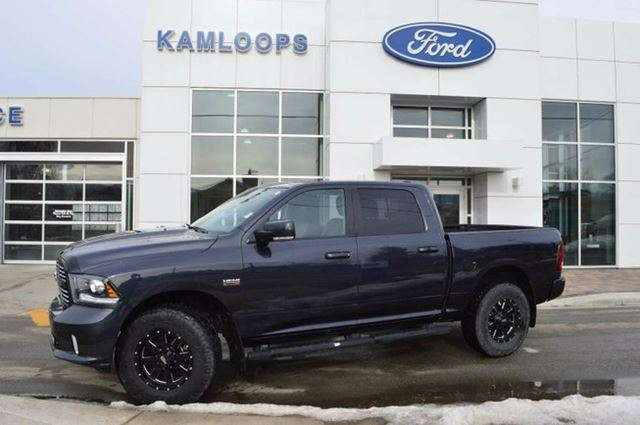 2014 DODGE RAM 1500 Sport 4x4 Crew Cab 140 in. WB in Kamloops, British Columbia