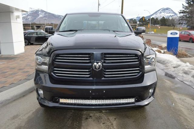 2014 dodge ram 1500 sport 4x4 crew cab 140 in wb kamloops british columbia used car for sale. Black Bedroom Furniture Sets. Home Design Ideas
