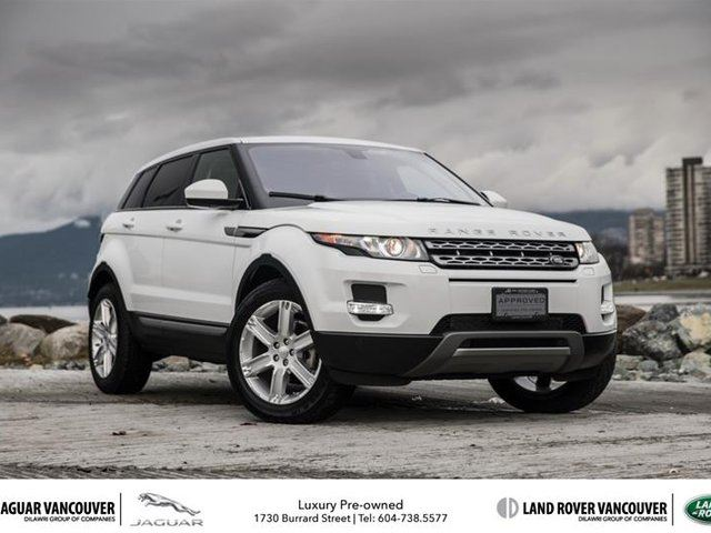 2014 land rover range rover evoque pure plus vancouver. Black Bedroom Furniture Sets. Home Design Ideas