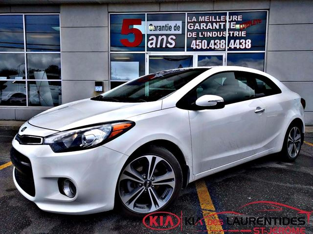 2016 kia forte koup 2016 ex saint jerome quebec used car for sale 2705670. Black Bedroom Furniture Sets. Home Design Ideas
