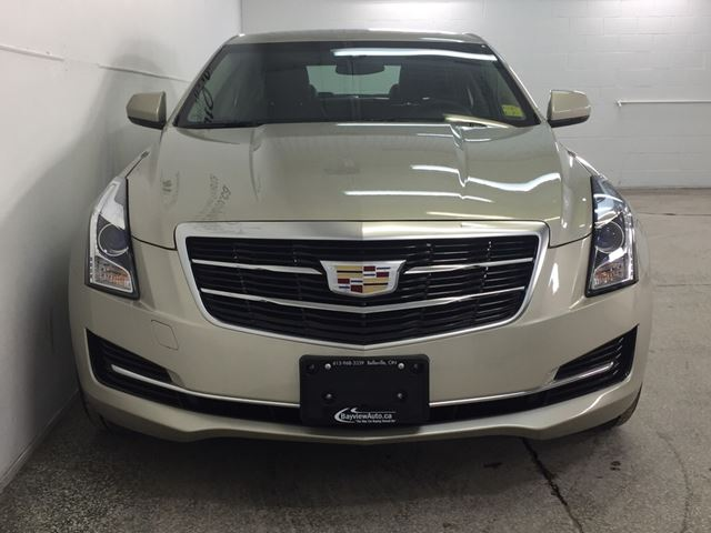 2015 cadillac ats turbo awd sunroof 1500km big screen radio belleville ontario used. Black Bedroom Furniture Sets. Home Design Ideas