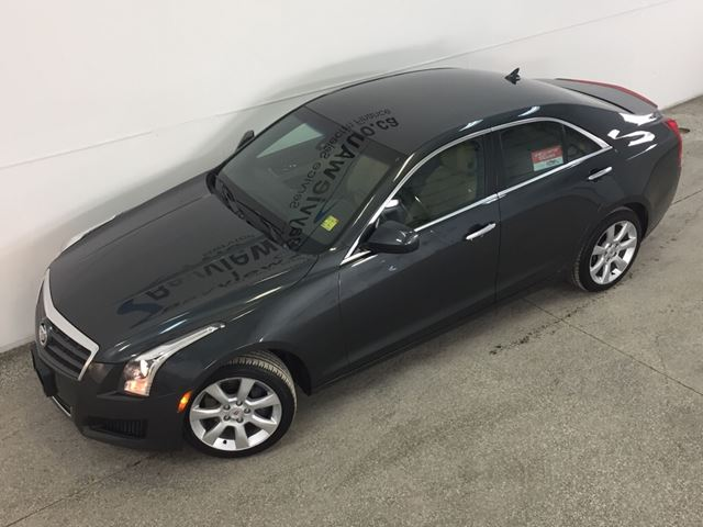 2014 cadillac ats turbo awd leather bose low km lease return belleville ontario used. Black Bedroom Furniture Sets. Home Design Ideas