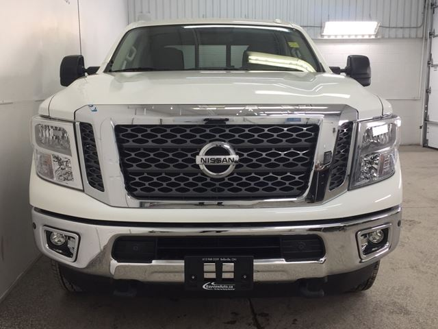 2016 nissan titan xd sv cummins 4x4 heated seats nav rev cam belleville ontario used. Black Bedroom Furniture Sets. Home Design Ideas