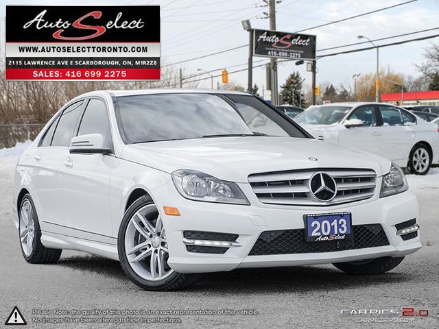 2013 mercedes benz c class 4matic c300 awd only 81k for Mercedes benz scarborough