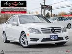 2013 Mercedes-Benz C-Class 4Matic C300 AWD ONLY 81K! **SPORT PKG** CLEAN CARPROOF in Scarborough, Ontario