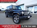 2016 Jeep Wrangler Unlimited Sahara ACCIDENT FREE w/ NAVIGATION & U-CONNECT BLUETOOTH in Surrey, British Columbia