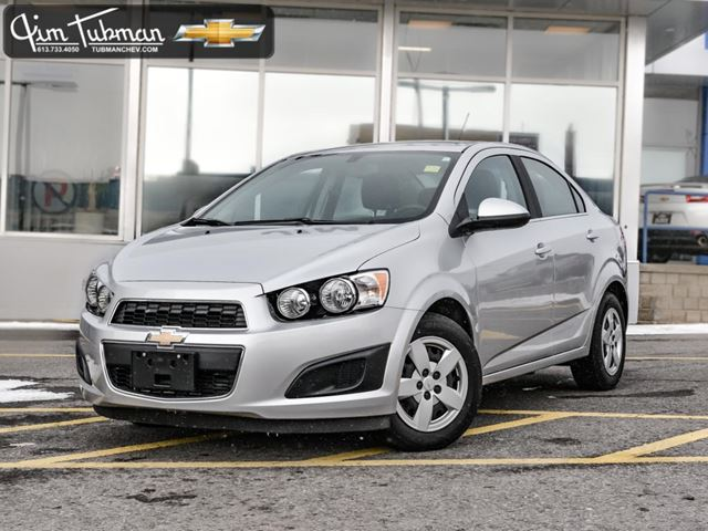 2016 chevrolet sonic lt auto silver jim tubman motors. Black Bedroom Furniture Sets. Home Design Ideas