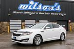 2013 Kia Optima LX BLUETOOTH! HEATED SEATS! CRUISE! POWER PKG! KEYLESS ENTRY! ALLOYS! INFO CENTER! in Guelph, Ontario
