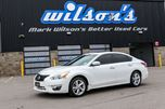 2013 Nissan Altima 2.5 SL w/ LEATHER! SUNROOF! REAR CAMERA! HEATED STEERING WHEEL! NAV! POWER PKG! ALLOYS! in Guelph, Ontario
