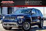 2016 Jeep Grand Cherokee Limited  4x4 Sunroof Nav RearCam HtdFrSeats 18Alloys  in Thornhill, Ontario