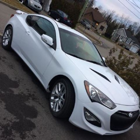2014 hyundai genesis coupe premium navigation white lease busters. Black Bedroom Furniture Sets. Home Design Ideas