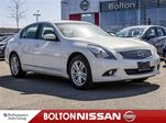 2012 Infiniti G37 x Heated Seats Leather Keyless Ignition in Bolton, Ontario