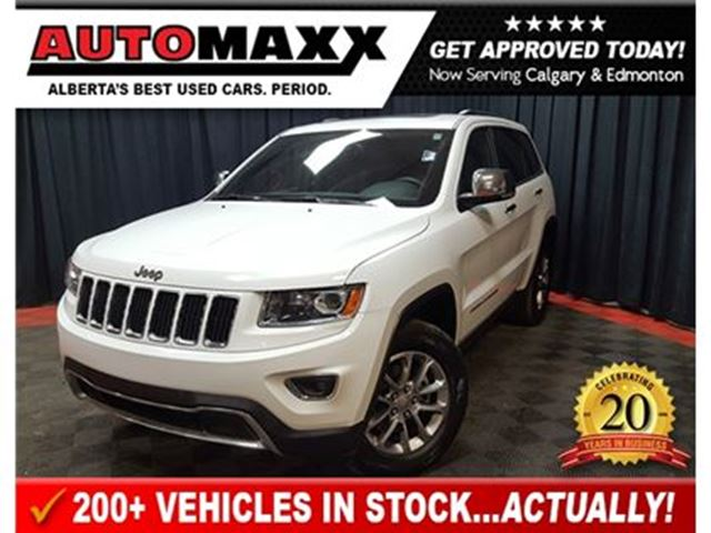 2016 JEEP Grand Cherokee Limited! in Calgary, Alberta
