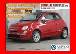 2014 Fiat 500 Lounge *Cuir Rouge,Toit, Mags in Saint-Jerome, Quebec