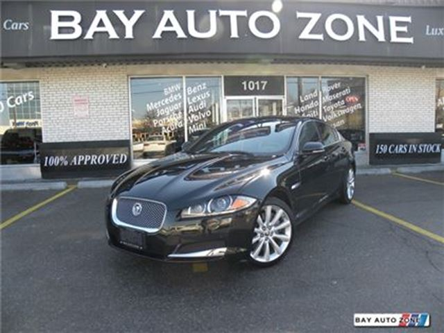 2013 JAGUAR XF 3.0L AWD+ NAVIGATION+ REAR CAMERA+ SUNROOF in Toronto, Ontario