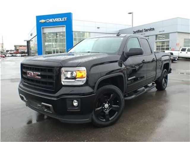 2015 gmc sierra 1500 elevation edition mississauga ontario used car. Black Bedroom Furniture Sets. Home Design Ideas
