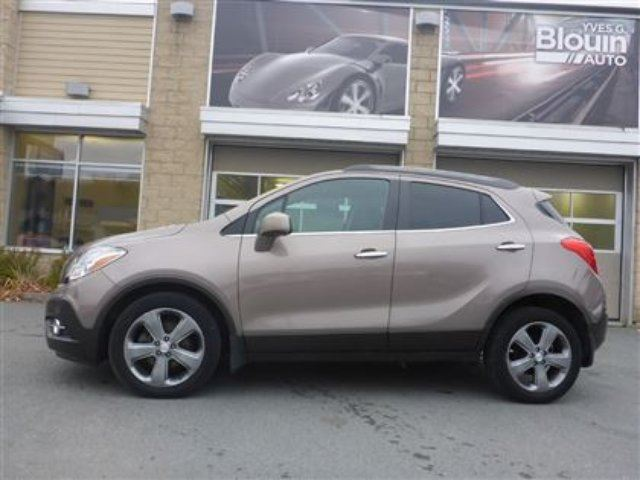 2013 buick encore convenience sainte marie quebec used car for sale 2707199. Black Bedroom Furniture Sets. Home Design Ideas