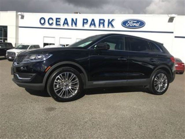 2016 LINCOLN MKX AWD - CLIMATE PKG, HEATED REAR SEATS, LANE KEEP AS in Surrey, British Columbia