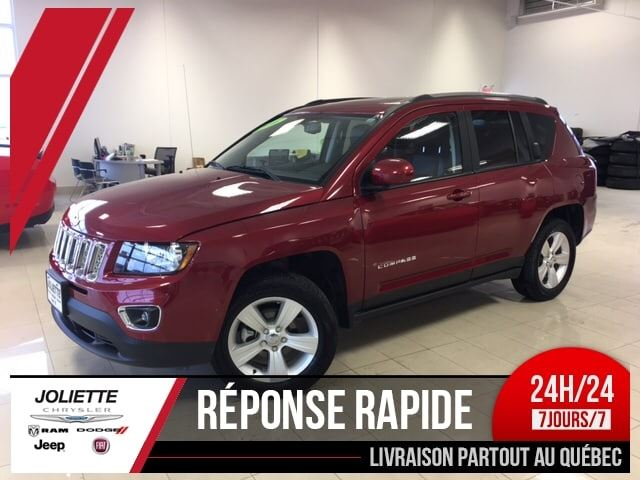 2016 Jeep Compass North High Altitude, 4X4, CUIR,BLUETOOTH, MAG, in Joliette, Quebec