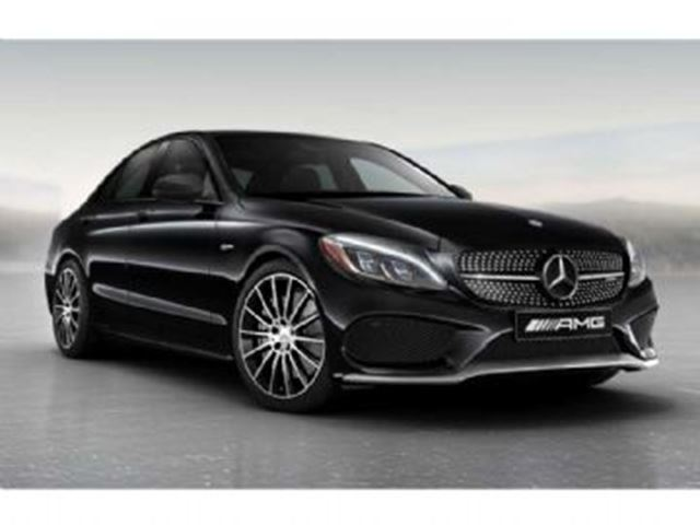 2017 mercedes benz c class c43 amg 4matic sedan black for Mercedes benz c43 amg lease