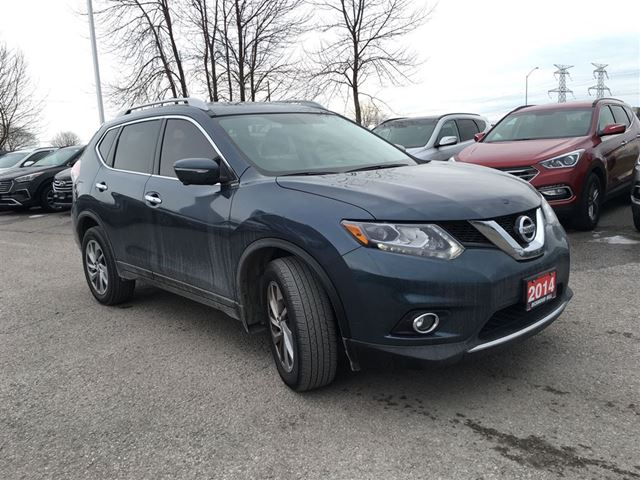 2014 nissan rogue sl bowmanville ontario car for sale 2707980. Black Bedroom Furniture Sets. Home Design Ideas