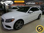 2015 Mercedes-Benz C-Class C300**4MATIC**NAVI**PANO RF**R/CAMERA** in Vaughan, Ontario