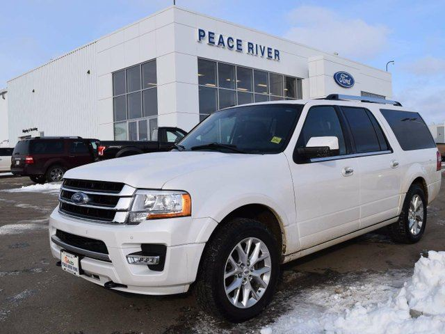 2015 ford expedition limited white peace river ford sales. Black Bedroom Furniture Sets. Home Design Ideas