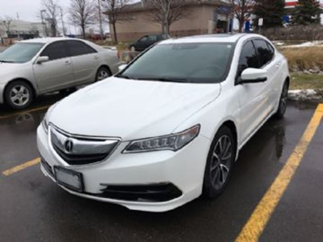 2015 acura tlx 4dr sdn sh awd v6 tech white lease. Black Bedroom Furniture Sets. Home Design Ideas