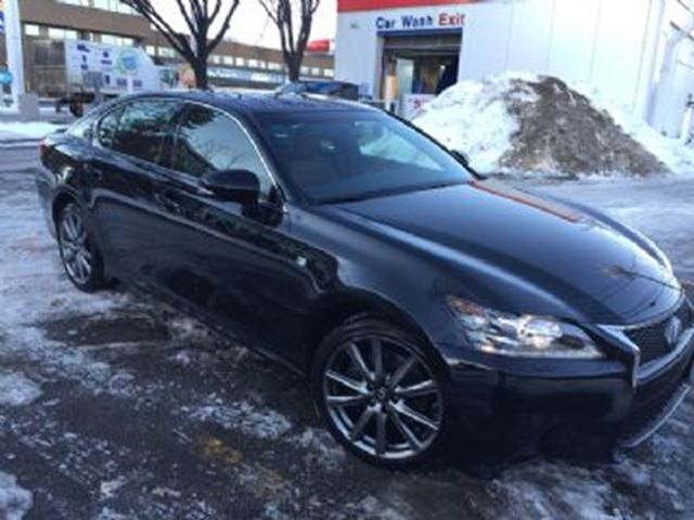 2014 lexus gs 350 4dr sdn awd f sport mississauga ontario used car for sale 2708668. Black Bedroom Furniture Sets. Home Design Ideas