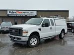 2008 Ford F-250 SUPER CAB 4X4 **COMMERCIAL CAP & LADDER RACK INCLUDED** in Ottawa, Ontario