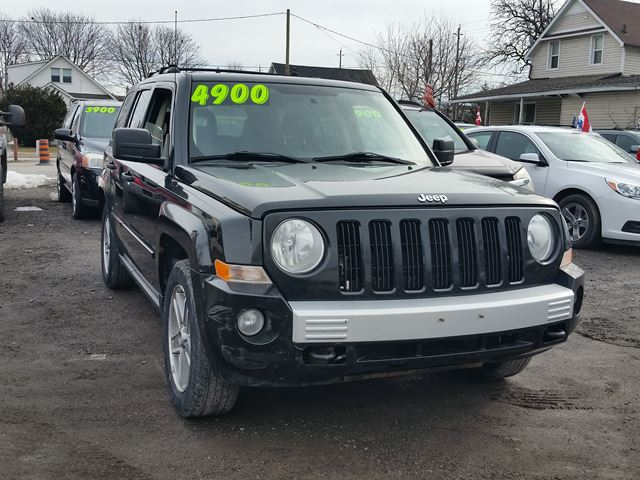 2007 jeep patriot limited oshawa ontario used car for sale. Black Bedroom Furniture Sets. Home Design Ideas