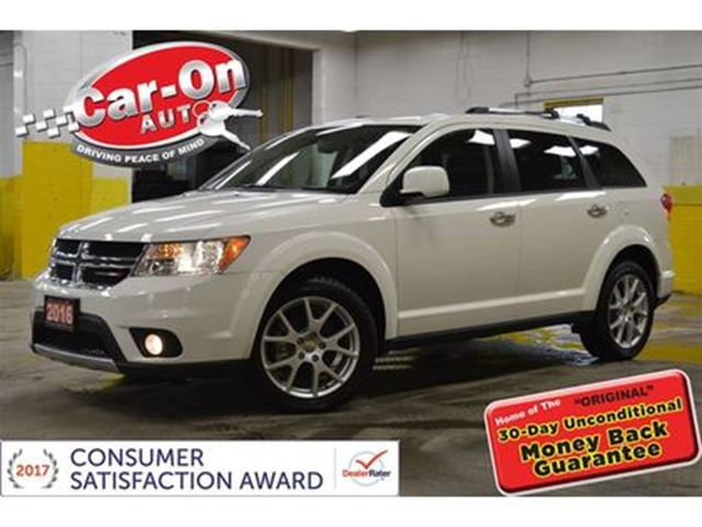 2016 dodge journey r t awd leather 3rd row htd seats loaded ottawa ontario car for sale 2708794. Black Bedroom Furniture Sets. Home Design Ideas