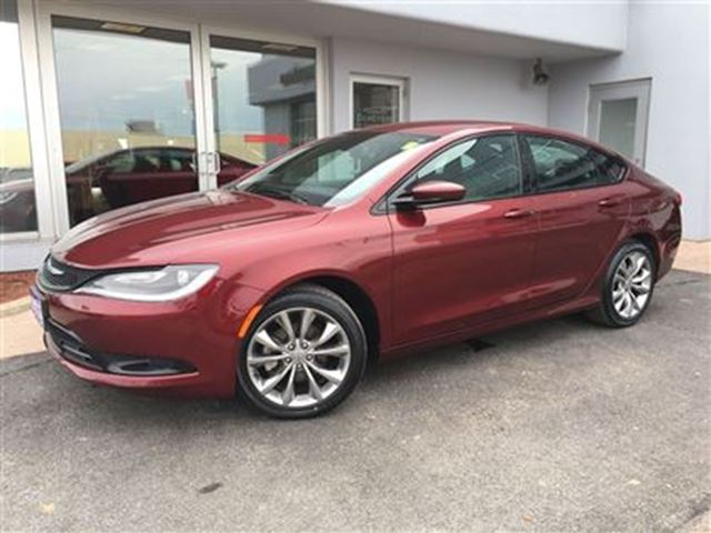 2015 chrysler 200 s leather simcoe ontario used car for. Black Bedroom Furniture Sets. Home Design Ideas