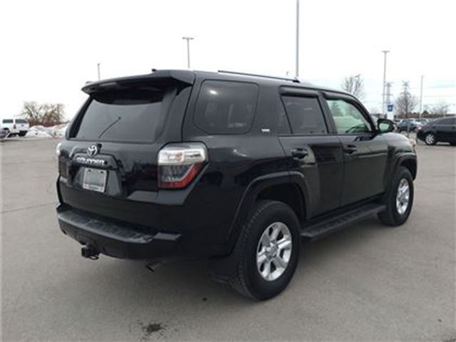 2016 toyota 4runner sr5 7 pass leather nav bowmanville ontario used car for sale 2708764. Black Bedroom Furniture Sets. Home Design Ideas