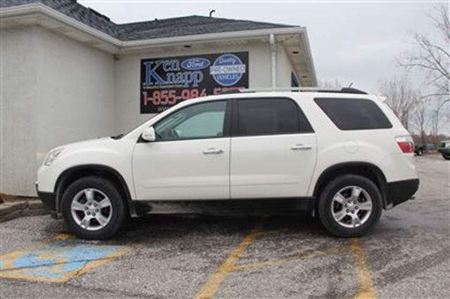 2010 gmc acadia sle essex ontario used car for sale. Black Bedroom Furniture Sets. Home Design Ideas