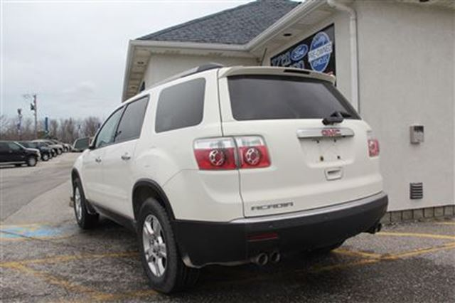 2010 gmc acadia sle essex ontario used car for sale 2708802. Black Bedroom Furniture Sets. Home Design Ideas