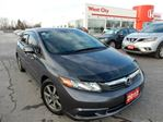 2012 Honda Civic EX-L 4dr Sedan - LEATHER,GPS,SUNROOF! in Belleville, Ontario