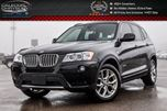 2014 BMW X3 xDrive28i Pano Sunroof Backup Cam Bluetooth Heated Front Seats 18Alloy Rims in Bolton, Ontario