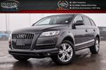 2013 Audi Q7 3.0L Quattro Pano Sunroof Bluetooth Leather Heated Front & 2nd Row Seat 19Alloy Rims in Bolton, Ontario