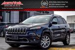 2016 Jeep Cherokee Limited SafetyTec,Tech Pkgs Pano_Sunroof Nav Leather 18Alloys in Thornhill, Ontario