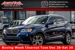 2014 BMW X3 xDrive35i Pano_Sunroof Nav 180 Cam Leather Bluetooth 19Alloys in Thornhill, Ontario
