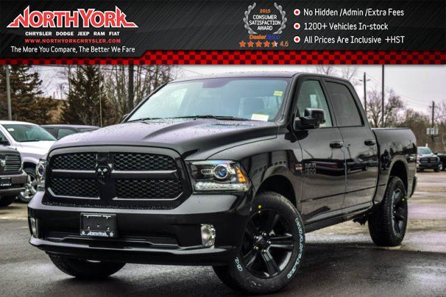 2017 dodge ram 1500 new car night edition 4x4 crew convi pkg backup cam leather 20alloys. Black Bedroom Furniture Sets. Home Design Ideas