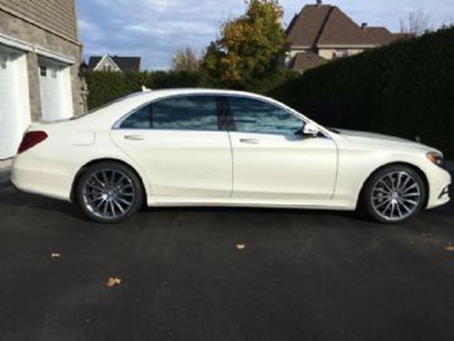 2016 mercedes benz s class s550 long wheel base lwb white for White s550 mercedes benz for sale