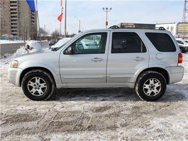 used 2005 ford escape v 6 cy limited 4wd heated leather. Black Bedroom Furniture Sets. Home Design Ideas