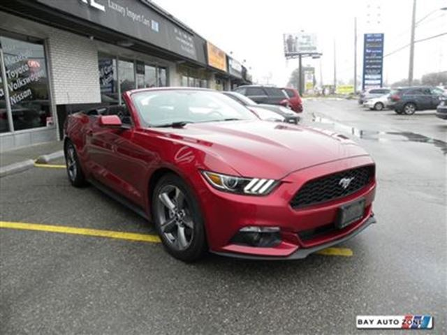 2016 ford mustang v6 convertible auto camera bluetooth toronto ontario used car for sale. Black Bedroom Furniture Sets. Home Design Ideas