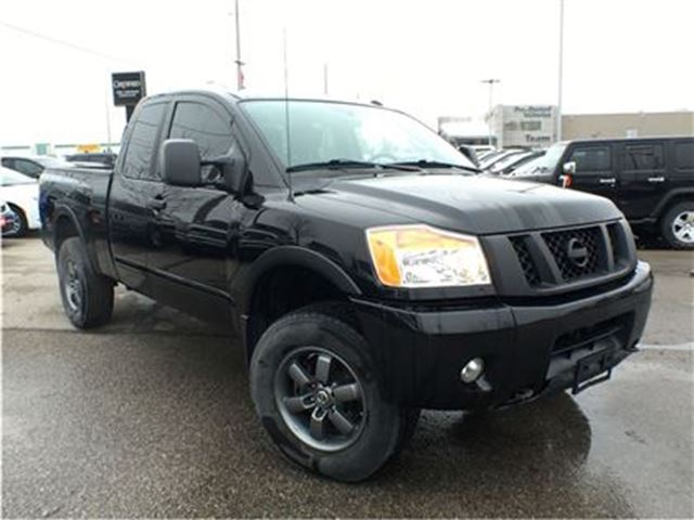 2015 Nissan Titan PRO-4X**NAVIGATION**BLUETOOTH** in Mississauga, Ontario