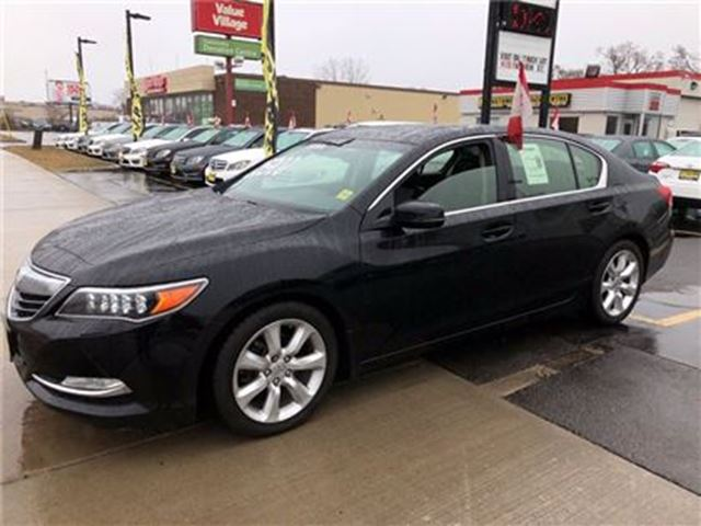 2014 Acura RLX Leather, Heated Seats, Back Up Camera, 38,000Km in Burlington, Ontario